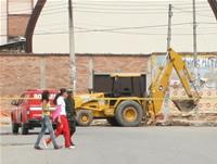 Emergencia en el Centro de Soacha por Ruptura de Tubo de Gas Natural
