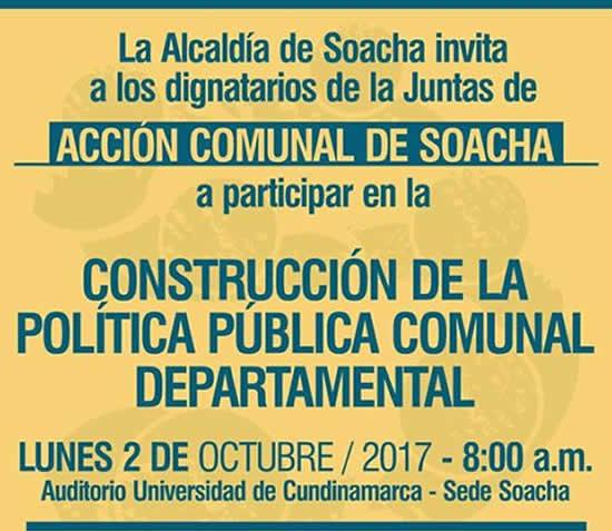 Alcaldía participará en jornada departamental de política pública comunal
