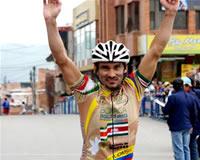 Uberlino Mesa de Boyacá ganó  la V Clásica ciclística ciudad de Soacha