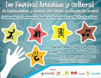 Mañana I Festival Artístico y Cultural  de Adolescentes y Jóvenes de Comuna IV
