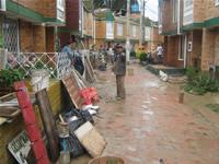 La furia del agua deja 1.500 damnificados en Soacha