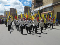Gigantesco desfile protagonizó celebración del Bicentenario en Soacha