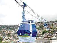 Abierta posibilidad de desarrollar cables aéreos en Bogotá y Soacha