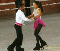 El patinaje artístico se reunió el  fin de semana en Soacha