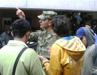 Jornada de incorporación para soldados campesinos en Soacha
