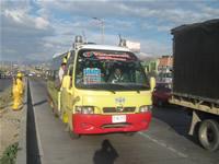 Serio apretón a rutas de  transporte en Soacha