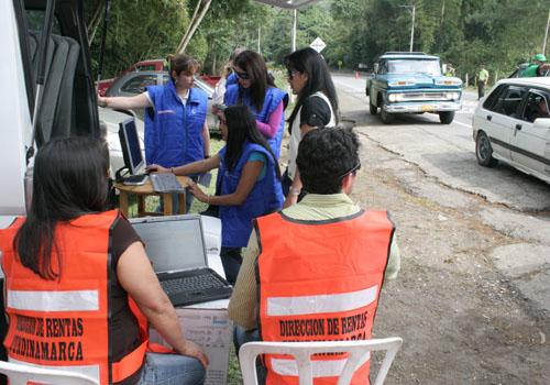 Operativos viales para contrarrestar el contrabando y la elusión