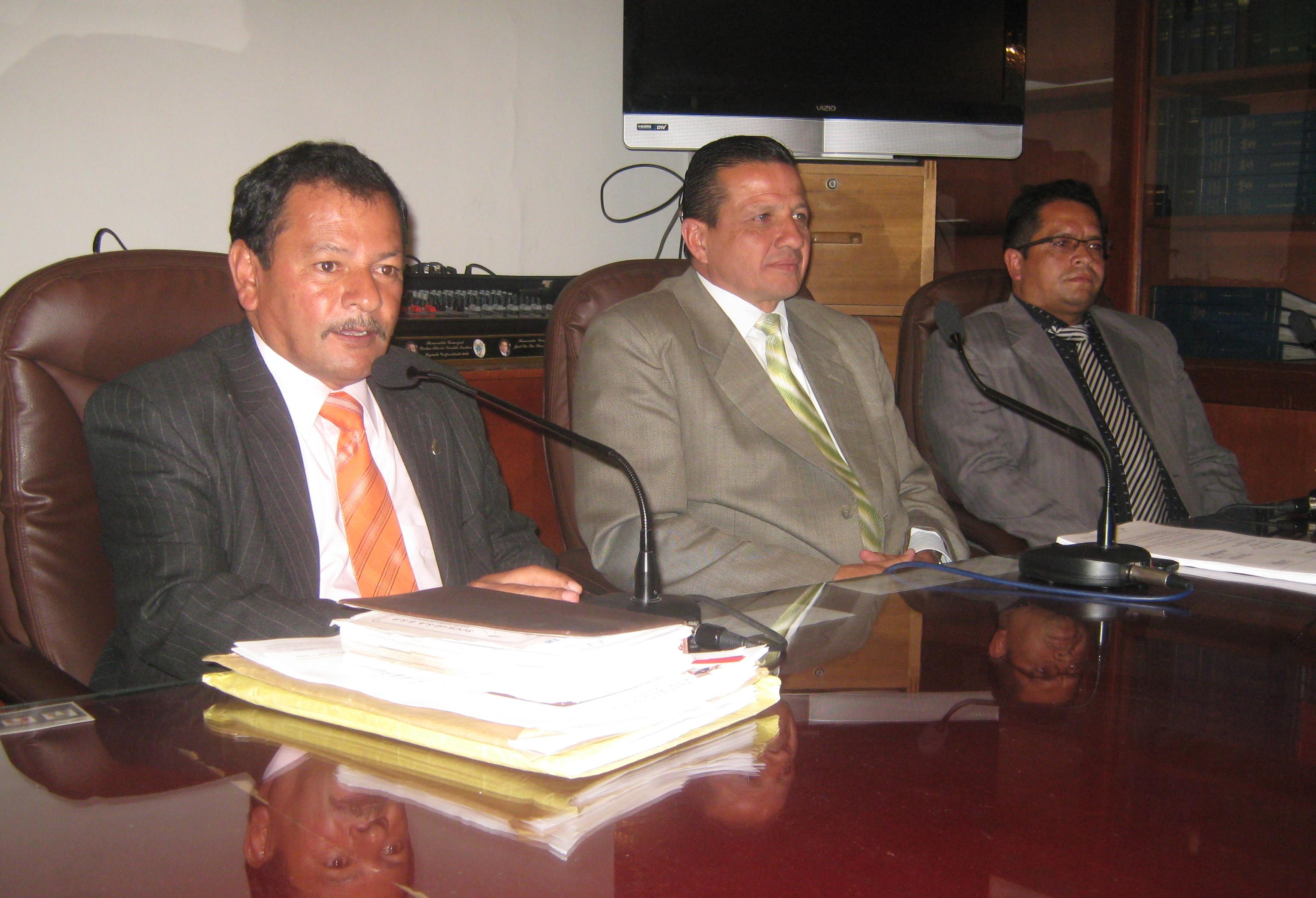 En medio de una tensa calma avanza socialización de proyectos en las comisiones del concejo