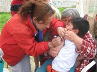 870 niños de Soacha fueron vacunados gratuitamente contra el neumococo