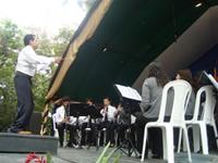 Banda sinfónica de Sibaté, camino hacia Paipa