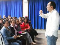 Docentes de Soacha se capacitan en la realización de proyectos de vida