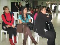 Las mujeres de Soacha celebraron el Día de la Democracia