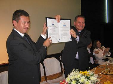 Secretaría de Educación de Soacha recibió la certificación del ICONTEC