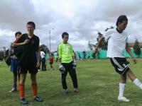 Periodistas de Soacha y Bogotá juegan fútbol a favor de la niñez