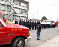 Día del bombero en Cundinamarca