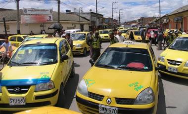 Taxistas mantienen orden de paro para mañana