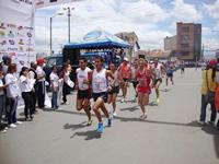 El ecuatoriano Byron Piedra ganó la XIX carrera atlética de Soacha