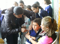 Inicia campaña de vacunación contra el Sarampión y la Rubeola