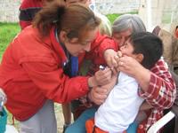 """""""Si los padres de familia no vacunan a sus hijos, no se permitirá la entrada de los menores a los planteles educativos"""""""