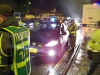 Administración Distrital y Policía de Tránsito ejercen control sobre conductores ebrios