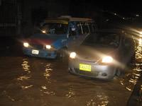 Inundaciones y emergencias anoche en Soacha