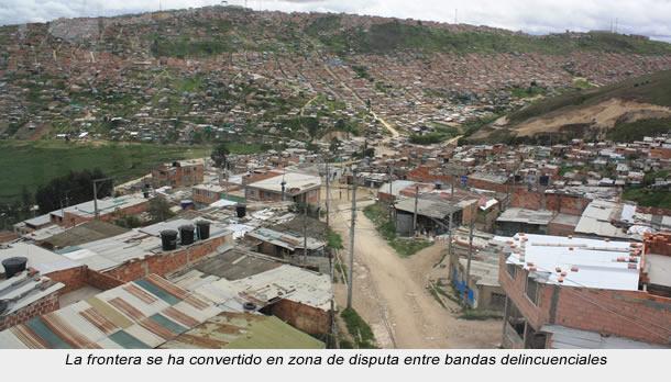 Por microtráfico aumentan descuartizamientos en frontera Soacha-Bosa-Ciudad Bolívar