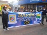 'Bilingual festival in Soacha'