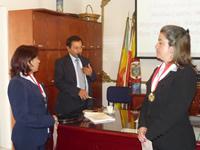 Cuatro funcionarias de la Secretaría de Hacienda reciben condecoración del 'Dios Varón'
