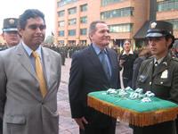 Policía Nacional otorga  Medalla al 'Mérito Ciudadano' a cuatro alcaldes de Cundinamarca