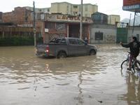 Inundaciones en diferentes sectores de Soacha