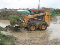 Se inician labores de limpieza luego de inundaciones en Soacha
