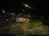 Anoche de nuevo se presentaron inundaciones en Soacha