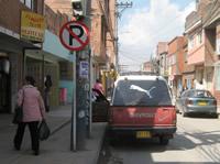 En Soacha se están robando las señales de tránsito