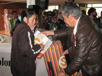 800 ayudas entregó la Fundación Solidaridad por Colombia a los damnificados de Soacha