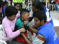 Campaña Nacional de Vacunación llega a Soacha