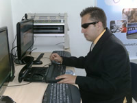 Se inauguró en Soacha primera aula interactiva para población con sordoceguera
