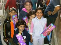 Gobernación  de Cundinamarca anticipó la navidad a los niños de Soacha