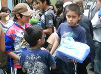Instituto Nacional de Salud entregó regalos de navidad a los niños de Soacha