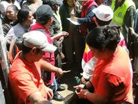125 mercados recibieron habitantes del barrio La María