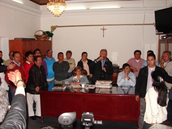 Andrés González ratifica a Claudio Galán como alcalde encargado de Soacha