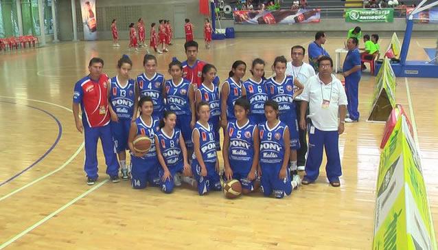 Histórico triunfo de Sibaté en el Pony Baloncesto femenino de Medellín