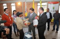 Mosquera, el primer municipio que recibe ayuda del programa Colombia Humanitaria