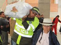 Colombia Humanitaria entregó ayudas a 806 familias damnificadas por el invierno en Soacha