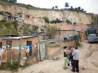 El 70% de las  familias de La Capilla se resisten a evacuar