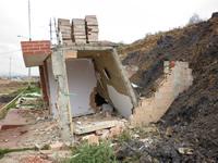 La montaña amenaza con sepultar más viviendas en Villa Esperanza, el Arroyo y Villa Sandra