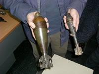Fiscalía incauta explosivos en Soacha