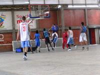 Basquetbol  y educación para los jóvenes de Soacha