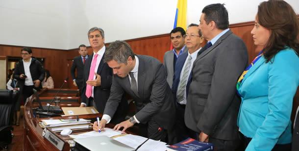 Cuatro proyectos fueron aprobados en sesiones extraordinarias de la Asamblea Departamental
