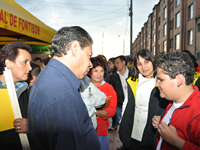 'Vecindarios Seguros' hoy  en el parque Atahualpa de Fontibón