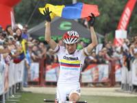 Leonardo Páez y  Ángela Parra  obtuvieron cupo olímpico en ciclomontañismo